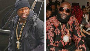 "50 Cent über kranken Rick Ross: ""Wenn er stirbt, stirbt er!"""