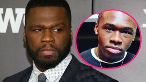 50 Cent und sein Sohn Marquise
