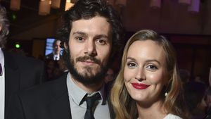 Adam Brody und Leighton Meester bei der Fox Golden Globe Aftershow-Party 2017