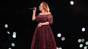 Adele bei einem Konzert in Melbourne
