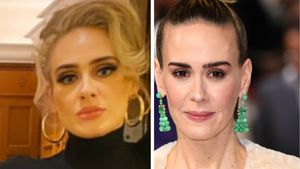 Große Ähnlichkeit mit Adele? So findet es Sarah Paulson!