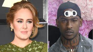 Herz-Emoji: Adele und Rapper Skepta flirten auf Social Media