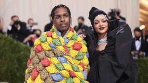 Bei Met Gala: A$AP Rocky und Rihanna geben Red-Carpet-Debüt