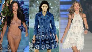 Adriana Lima, Kendall Jenner und Gisele Bündchen