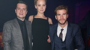 Liam Hemsworth, Hunger Games, Jennifer Lawrence und Josh Hutcherson