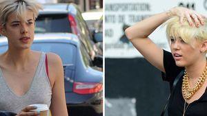 Miley Cyrus und Agyness Deyn