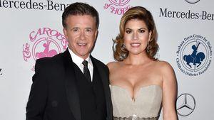 Alan Thicke mit seiner Frau Tanya Callau 2014 in Beverly Hills
