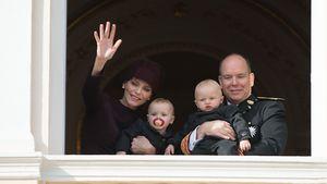 1. Geburtstag: Fürst Albert plant royale Feier für Zwillinge