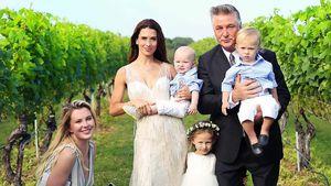5 Jahre Ehe: Alec & Hilaria Baldwin heiraten zum 2. Mal