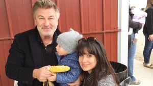 Süßer Ausflug: Alec Baldwin und seine Mädels auf Kürbis-Farm