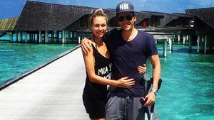 Baby-Vorfreude! Alena Gerber & Clemens strahlen um die Wette