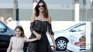 Alessandra Ambrosio mit Tochter Anja in Hollywood