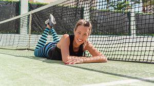 Mit fünf Kids: Alessandra Meyer-Wölden findet Zeit für Sport