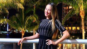 Alessandra Meyer-Wölden bei einem Date mit ihrem Mann
