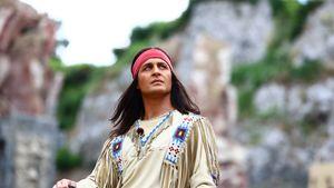 Winnetou: Alex Klaws und Larissa verteidigen Indianer-Spiele