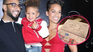Alicia Keys mit ihrer Familie - Collage