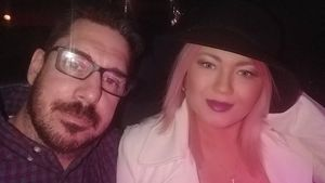 Amber Portwood und Matt Baier 2017 in Las Vegas