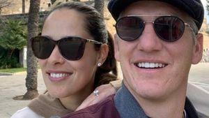 Ana und Bastian Schweinsteiger genießen Urlaub in Spanien!