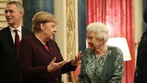 NATO-Meeting: Queen trifft auf Angela Merkel, Trump und Co.!