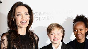Angie Jolie mit Töchtern auf Red-Carpet: Brad stinksauer!