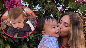 Mario und Ann-Kathrin Götzes Sohn bekommt ersten Haarschnitt