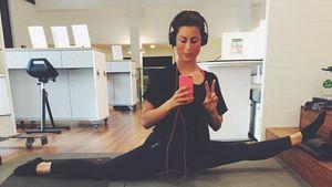 Workout im Spagat: So flexibel zeigt sich Ann Sophie