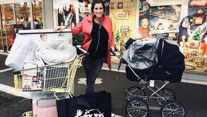 Im Kaufrausch: Anna-Maria Zimmermanns riesiger Baby-Einkauf!