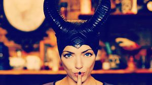 Halloween à la Maleficent? Anne Menden megaunsicher!