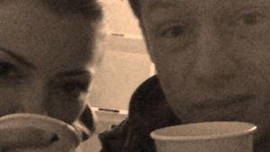 Kaffeepause bei GZSZ-Anne Menden & Vincent Kürger