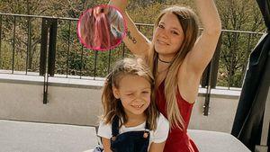 """""""Rockstar!"""": Anne Wünsche färbt Miley (7) die Haare pink"""
