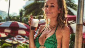 Heiße Strandnixe: Annemarie Carpendale grüßt aus Miami