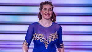"Anni Friesinger-Postma bei der ""Let's Dance""-Kennenlernshow"
