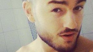 Sexy Badezimmer-Selfie: Ardian Bujupi zeigt Haut