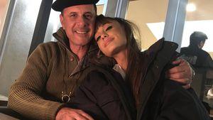 Sängerin Ariana Grande mit ihrem Vater Edward Butera