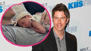 Neue Baby-Fotos: Arie Luyendyk genießt sein Papa-Dasein!