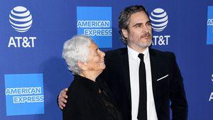 Besonderes Date: Joaquin Phoenix mit seiner Mama auf Event