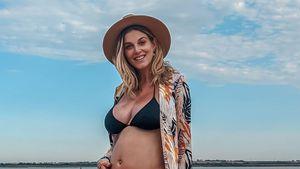 """Schwangere Ashley James baff: """"In mir wächst ein Penis!"""""""