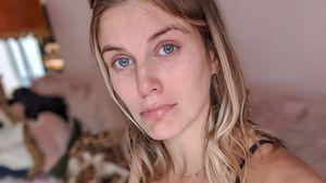 Schwangere Ashley James musste wegen Schmerzen in Klinik