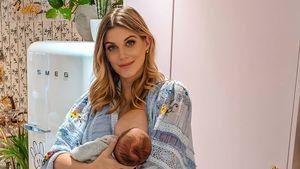 Neu-Mama Ashley James ehrlich: Sie wollte keinen Jungen