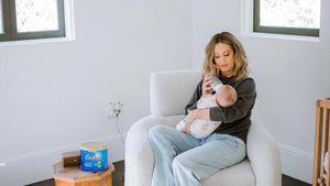 Stillprobleme: Ashley Tisdale füttert Tochter mit Fläschchen