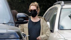 Gut kaschiert: Schwangere Ashley Tisdale versteckt Babybauch