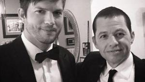Ashton Kutcher und Jon Cryer
