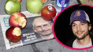 1.Foto: So sieht Ashton Kutcher als Steve Jobs aus