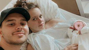 Blitzgeburt: YouTube-Aurels Tochter wurde zu Hause geboren