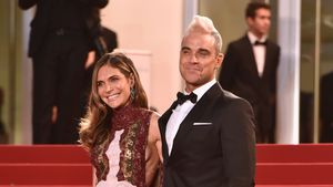 Ayda Field und Robbie Williams in Cannes