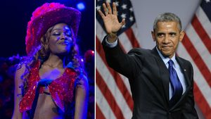 Barack Obama und Azealia Banks