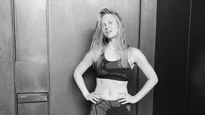 Bar Refaeli zeigt drei Monate nach Geburt ihre Bauchmuskeln