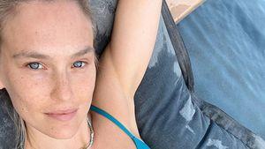Im Mini-Bikini: So schön faulenzt Dreifach-Mama Bar Refaeli