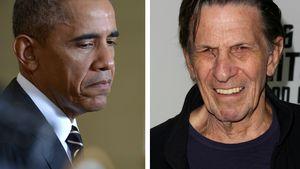 Sehr bewegend: Obama gedenkt Leonard Nimoy (✝83)