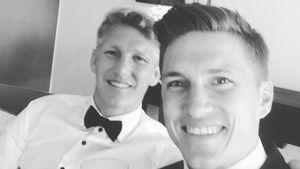 Bastian und Tobias Schweinsteiger